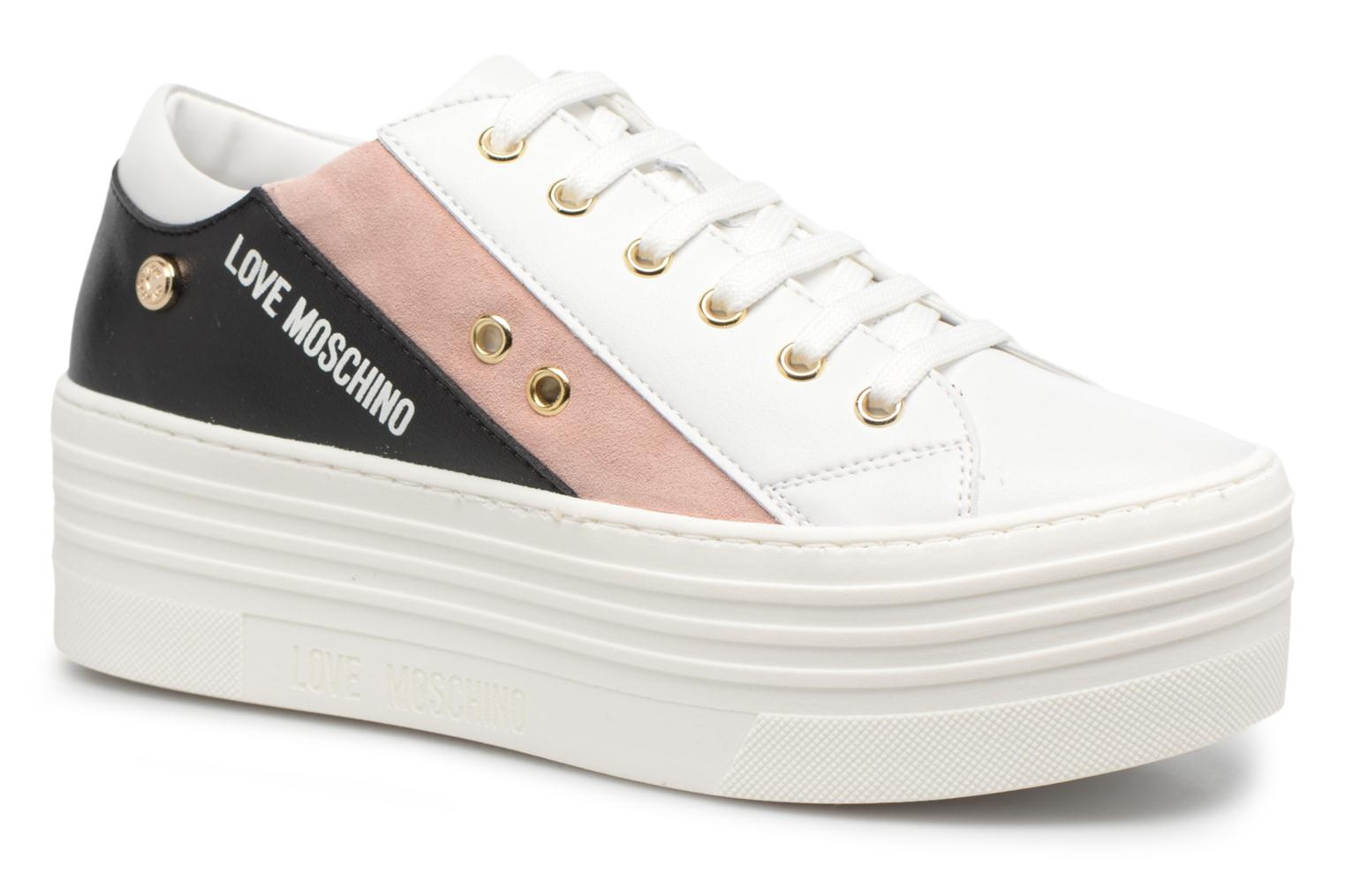 Sneakers Love Moschino Tennis JA15126G15 Wit detail