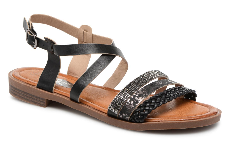 Grandes descuentos últimos zapatos I Love Shoes FITOR Size + (Negro) - Sandalias Descuento