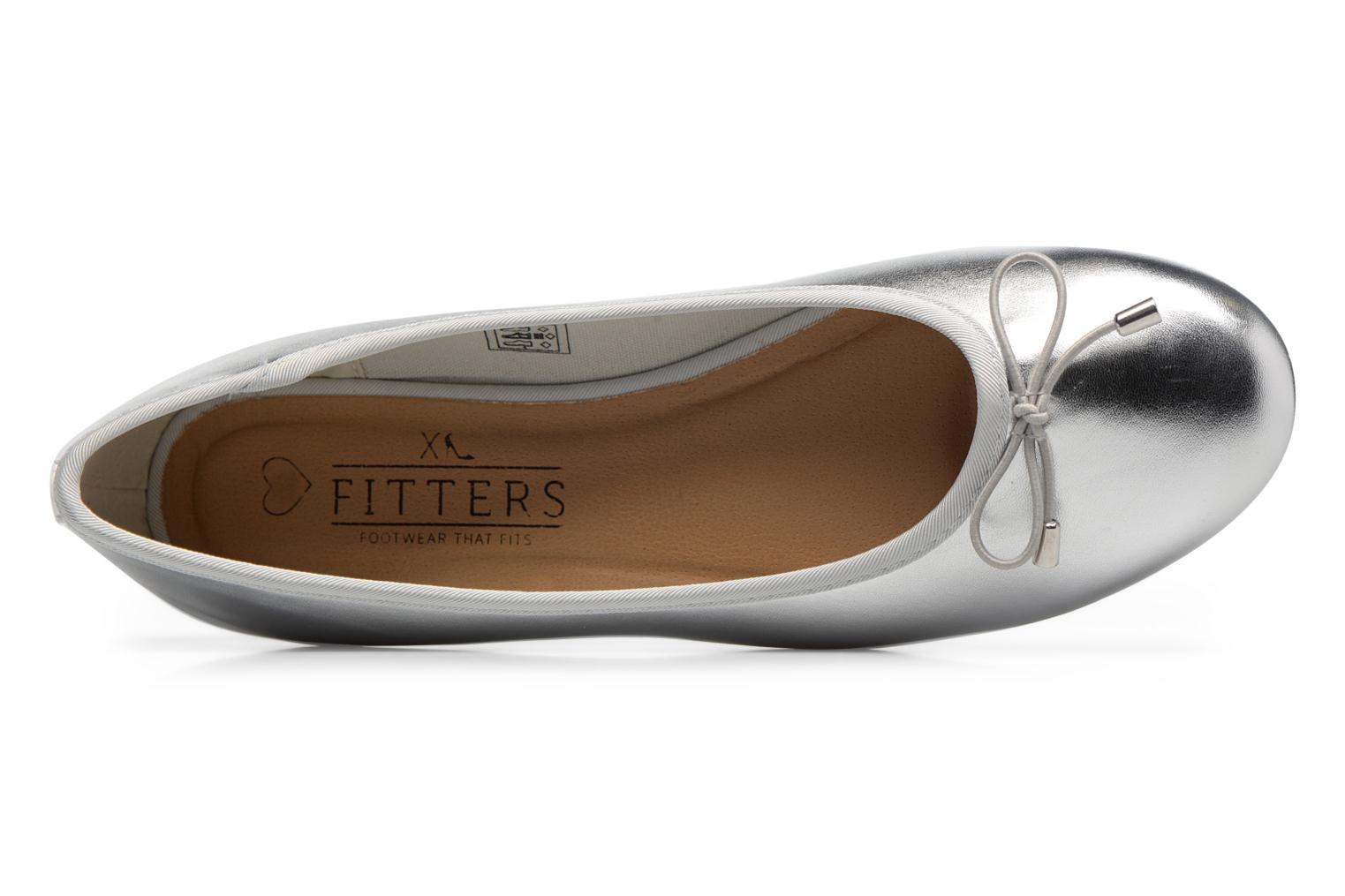 Ballerines I Love Shoes FIBAL Size + Argent vue gauche
