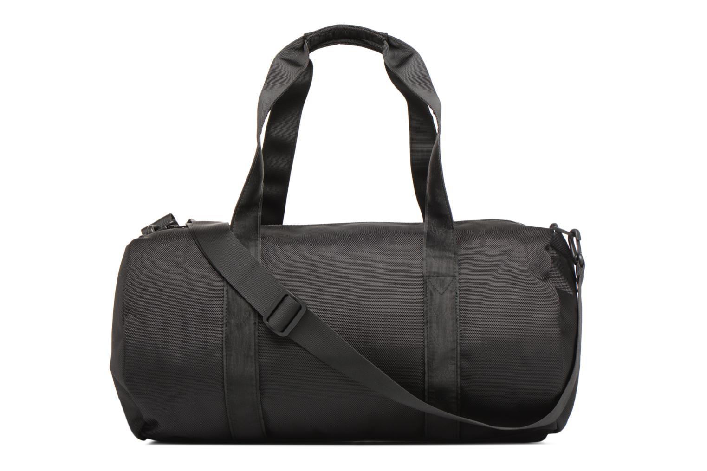 Sporttaschen Fred Perry Tonal Track Barrel Bag schwarz ansicht von vorne