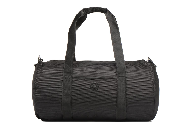 Sporttaschen Fred Perry Tonal Track Barrel Bag schwarz detaillierte ansicht/modell