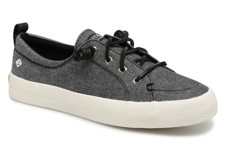Los últimos zapatos de descuento para hombres y mujeres Sperry Crest Vibe Crepe Chambray (Gris) - Deportivas en Más cómodo