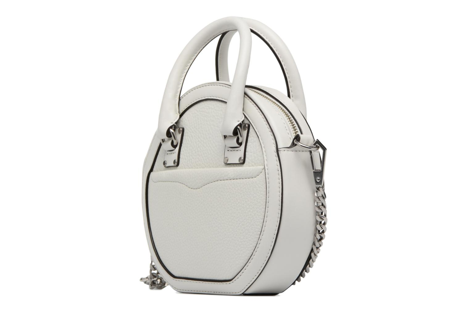 Handtassen Rebecca Minkoff Bree Circle Crossbody Wit model