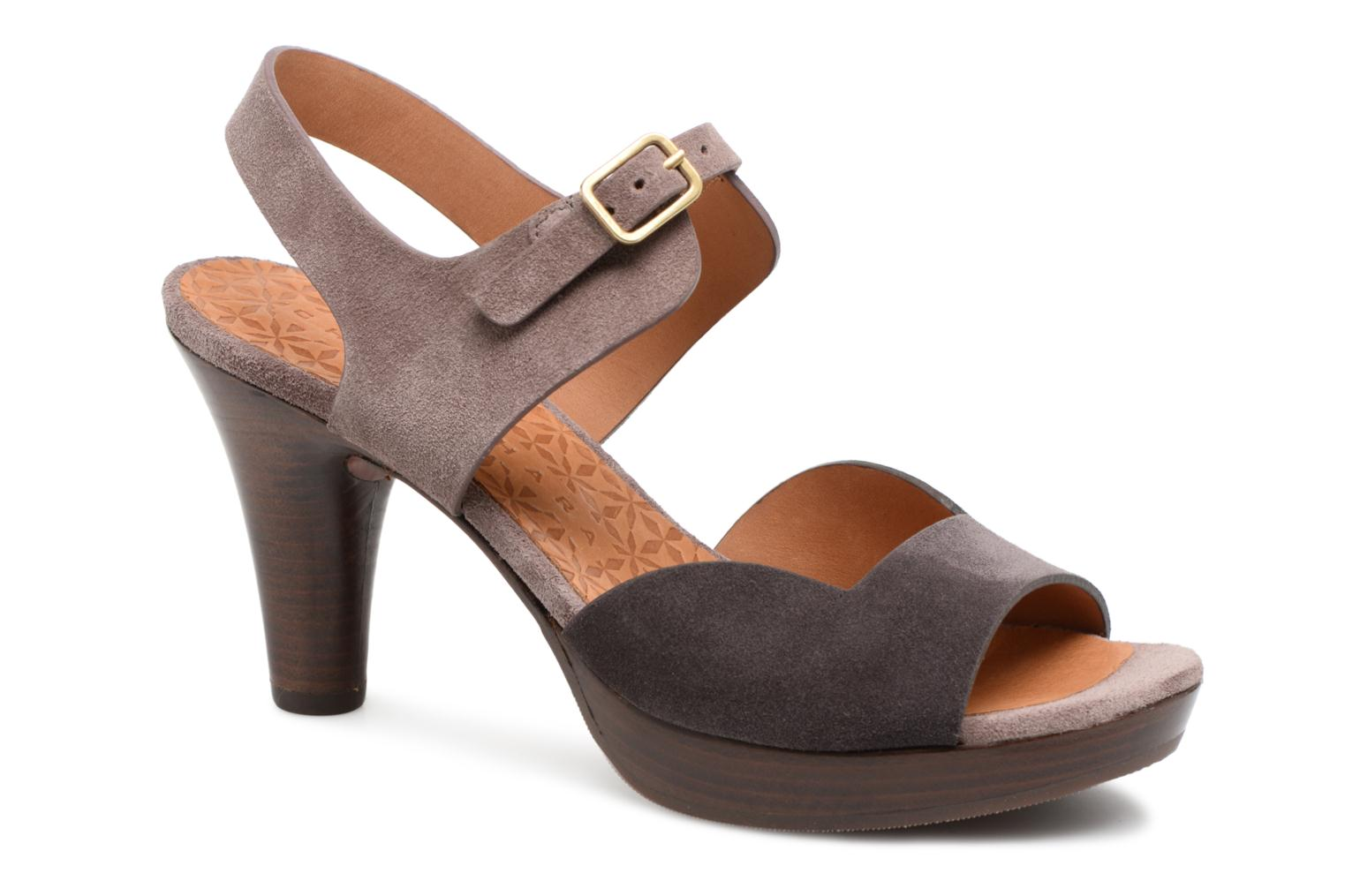 Marques Chaussure luxe femme Chie Mihara femme Loteria32 jean carbon + jean lavanda