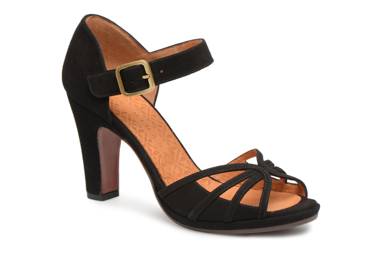 1b5ec3f65f97c Marques Chaussure luxe femme Chie Mihara femme Acha Ante Negro WNR775MN -  destrainspourtous.fr