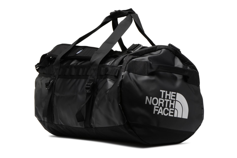 Sporttaschen The North Face BASE CAMP DUFFEL - M schwarz schuhe getragen