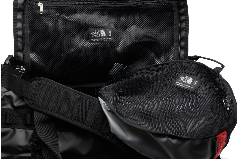 Sporttaschen The North Face BASE CAMP DUFFEL - M schwarz ansicht von hinten