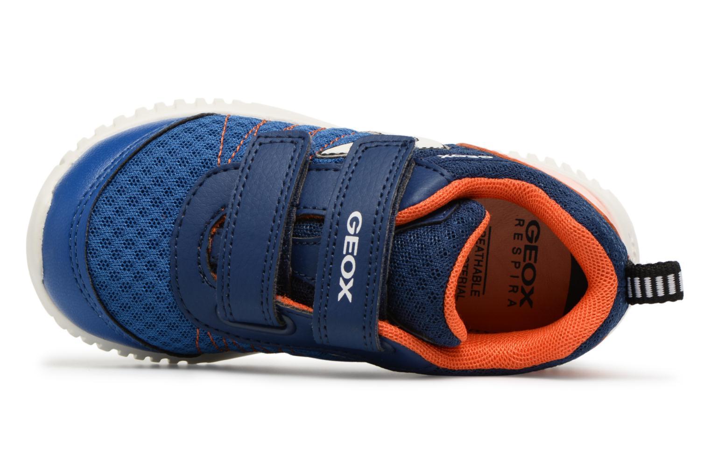 Baskets Geox B WAVINESS B.C B822BC Bleu vue gauche