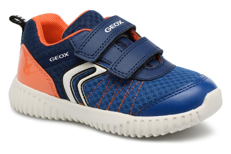 Baskets Geox B WAVINESS B.C B822BC Bleu vue détail/paire