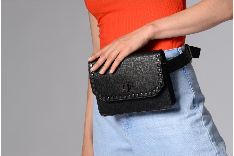 Kleine lederwaren Pepe jeans Ecora bag Zwart boven