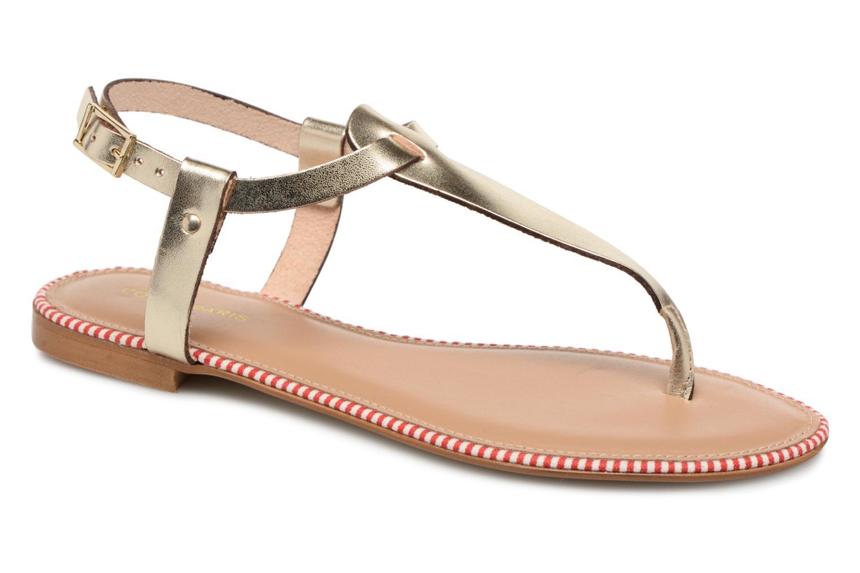 Grandes descuentos últimos zapatos COSMOPARIS LAYURE/MET (Oro y bronce) - Sandalias Descuento