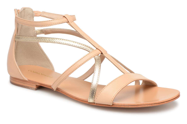 Zapatos especiales para hombres y mujeres COSMOPARIS KIMIA (Beige) - Sandalias en Más cómodo