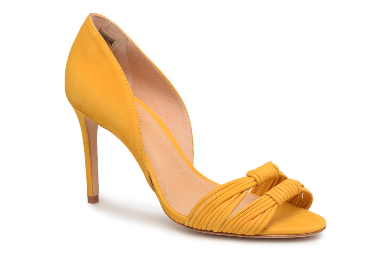Zapatos promocionales COSMOPARIS ALILI (Amarillo) - Sandalias   Venta de liquidación de temporada