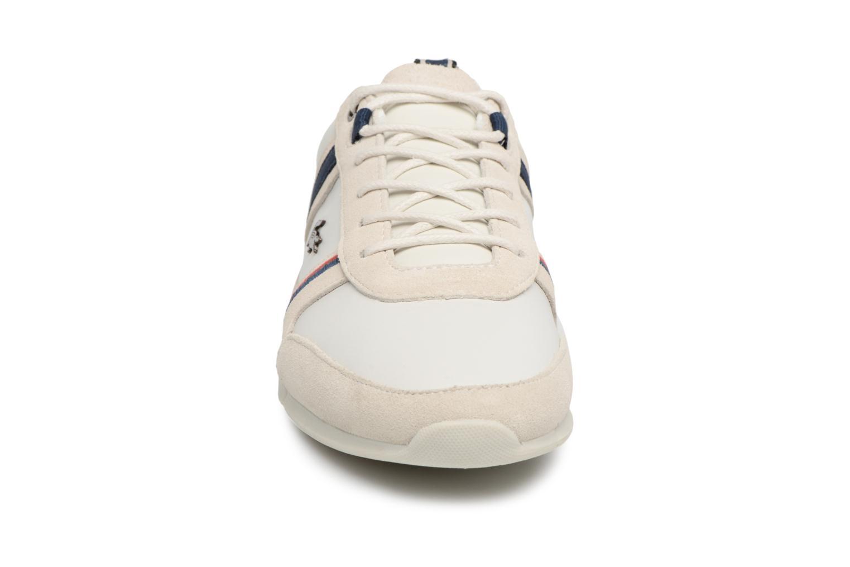 Baskets Lacoste MENERVA 118 1 Blanc vue portées chaussures