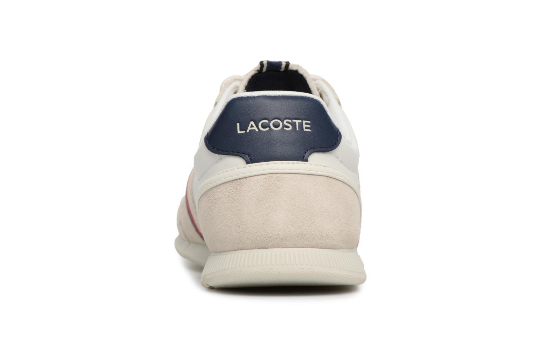 Baskets Lacoste MENERVA 118 1 Blanc vue droite