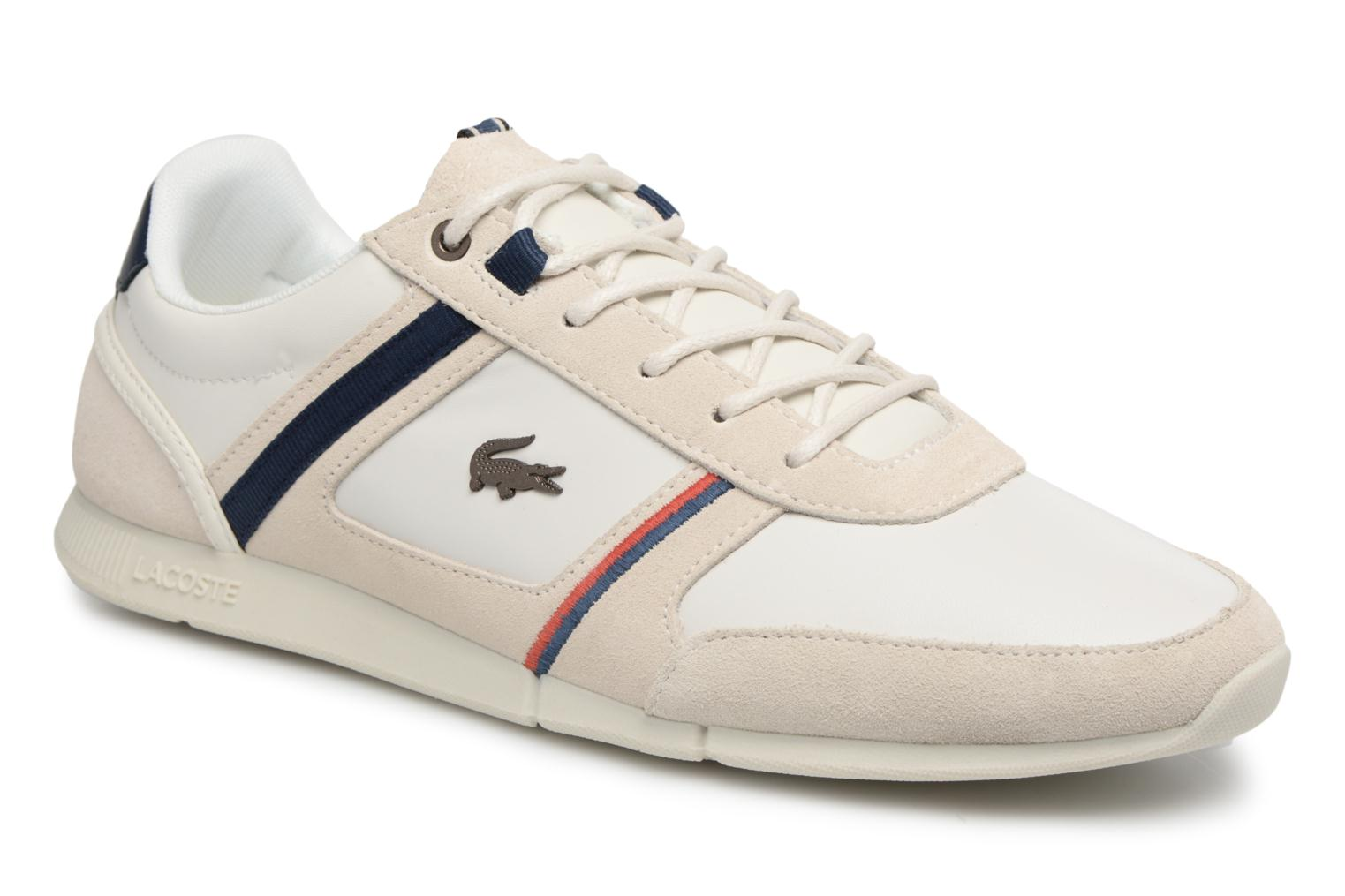 Marques Chaussure homme Lacoste homme MENERVA 118 1 OFF WHT/NVY