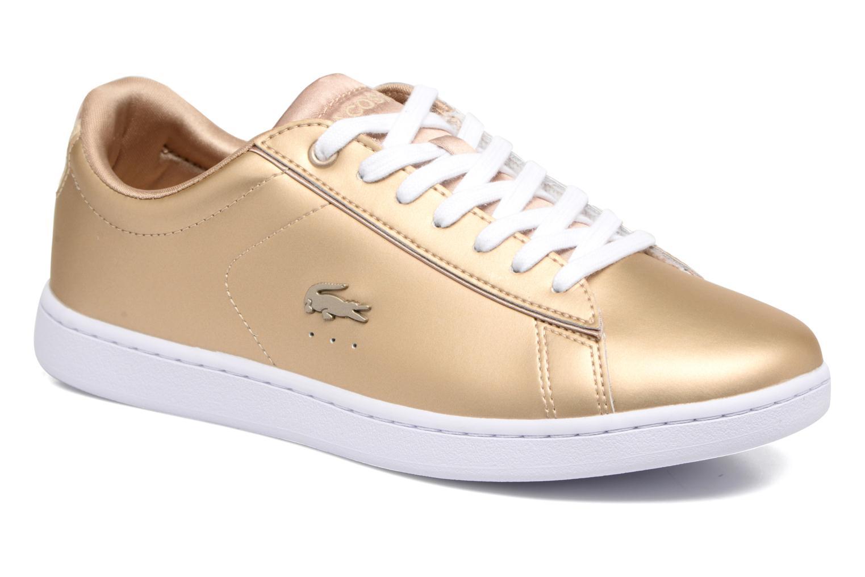 Grandes descuentos últimos zapatos Lacoste CARNABY EVO 118 1 (Oro y bronce) - Deportivas Descuento