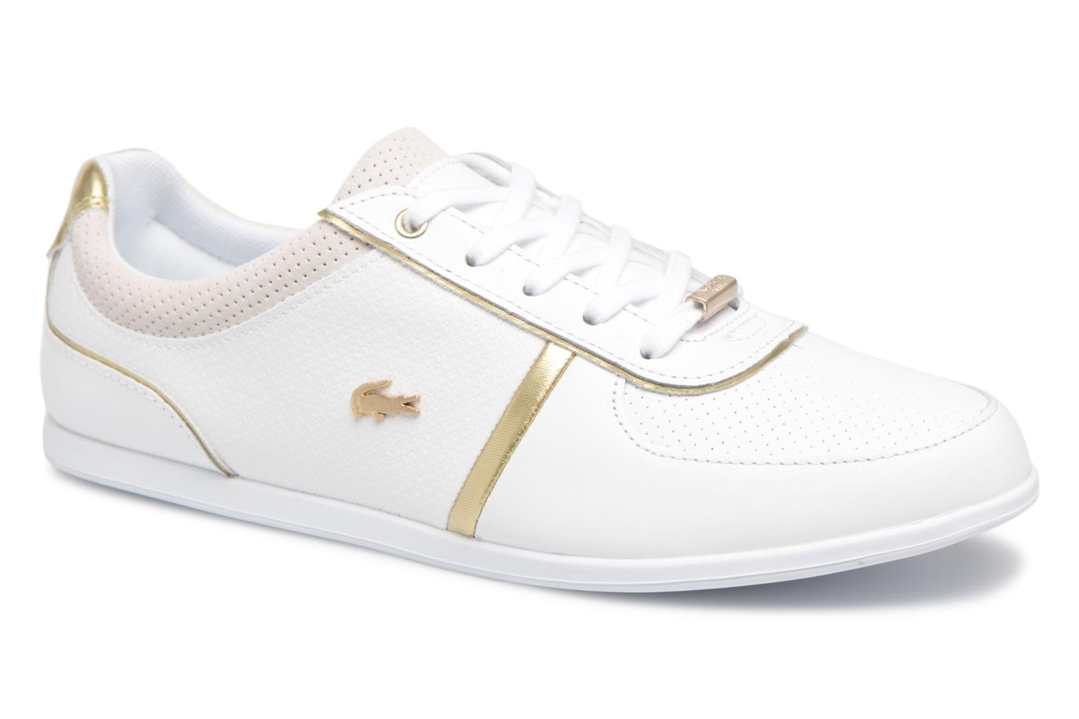 Marques Chaussure femme Lacoste femme REY U THROAT 118 1 wht/wht