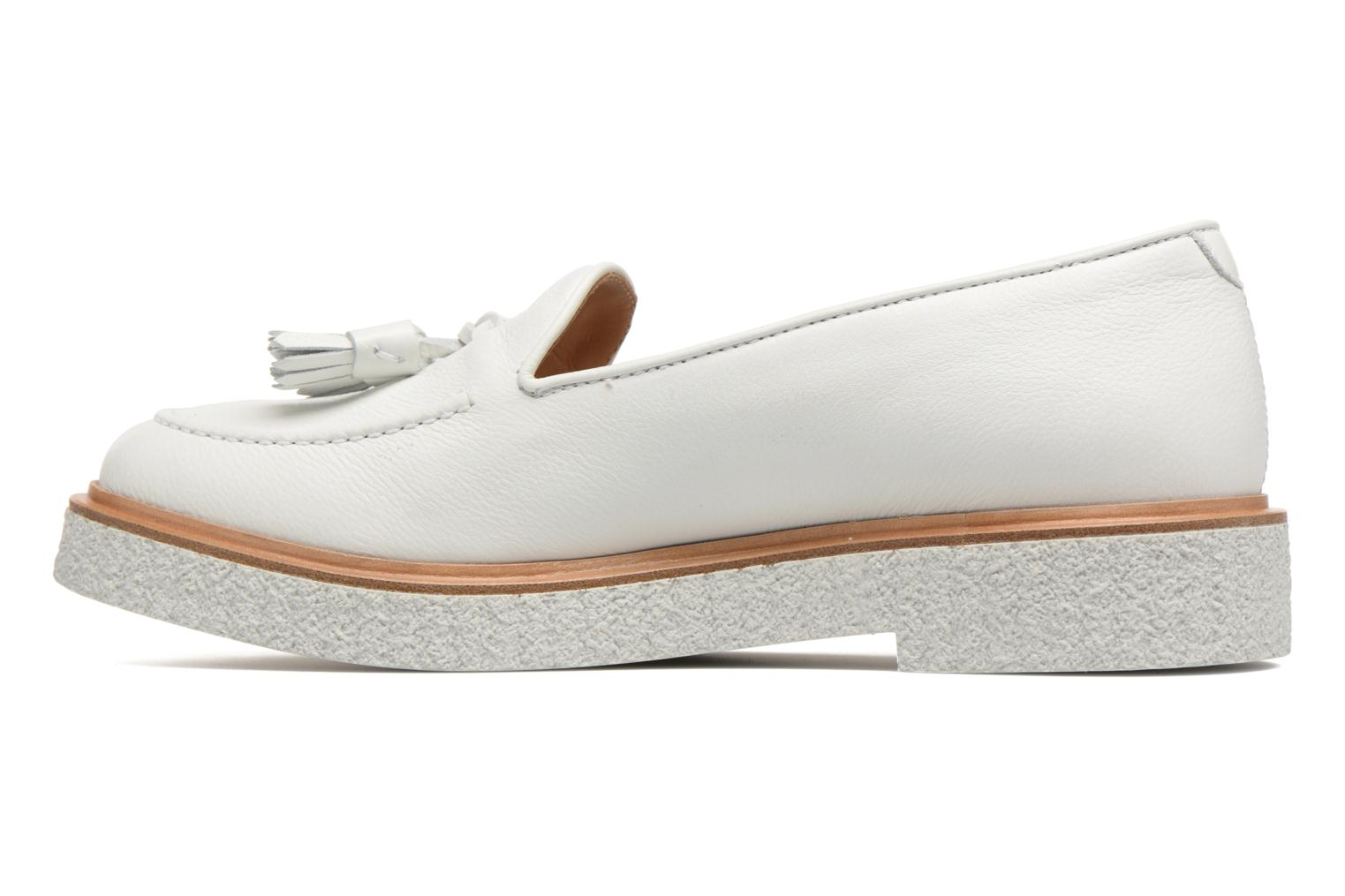 Loafers Fratelli Rossetti Lazu White front view