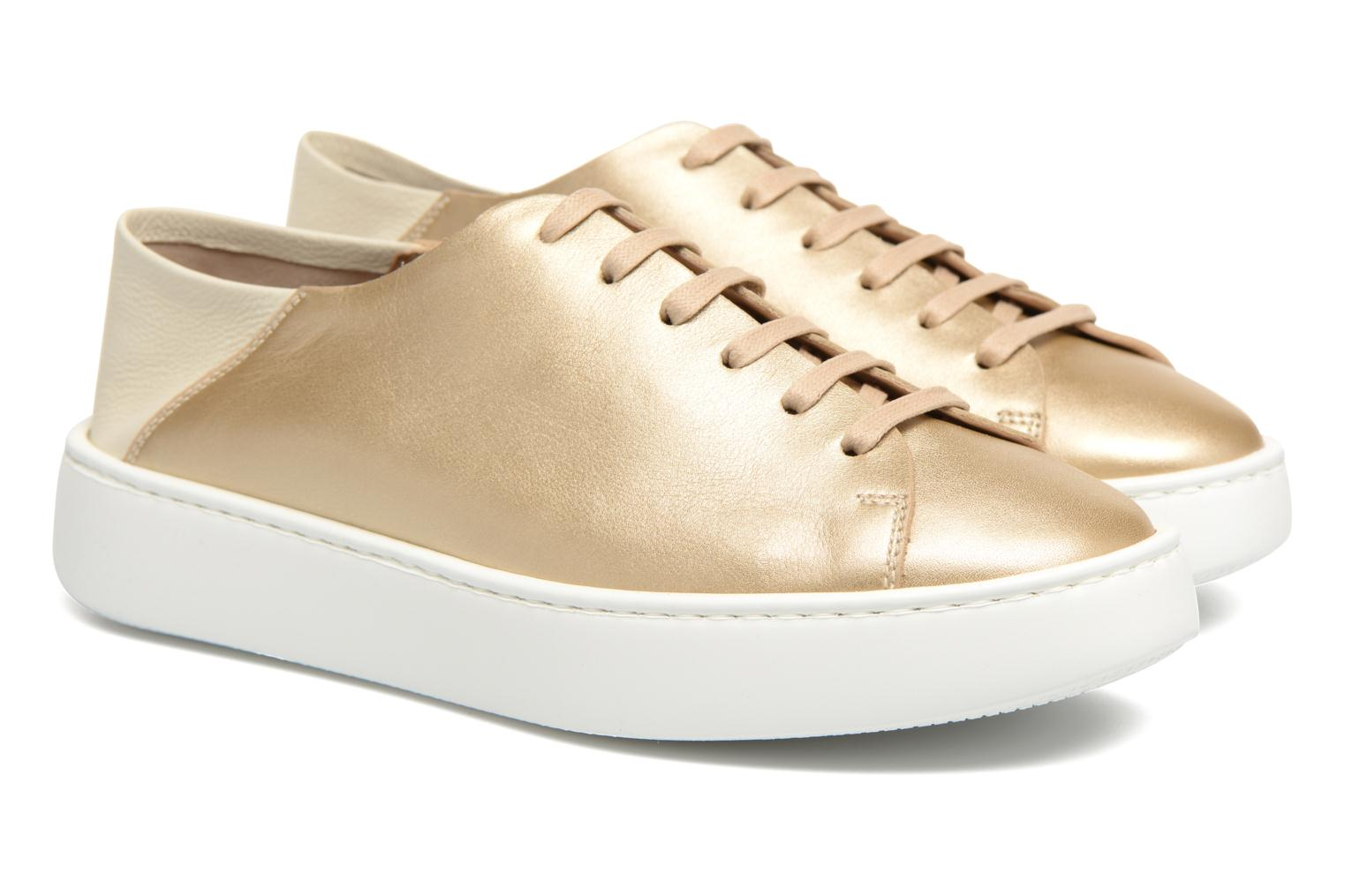Trainers Fratelli Rossetti Vija Bronze and Gold 3/4 view