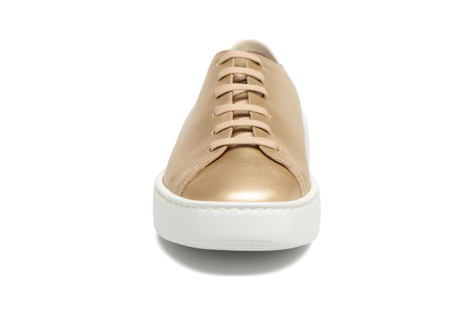 Trainers Fratelli Rossetti Vija Bronze and Gold model view