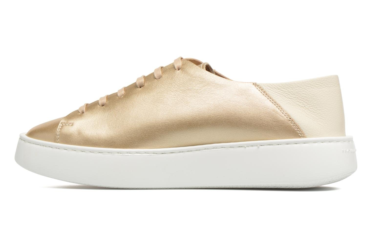 Trainers Fratelli Rossetti Vija Bronze and Gold front view