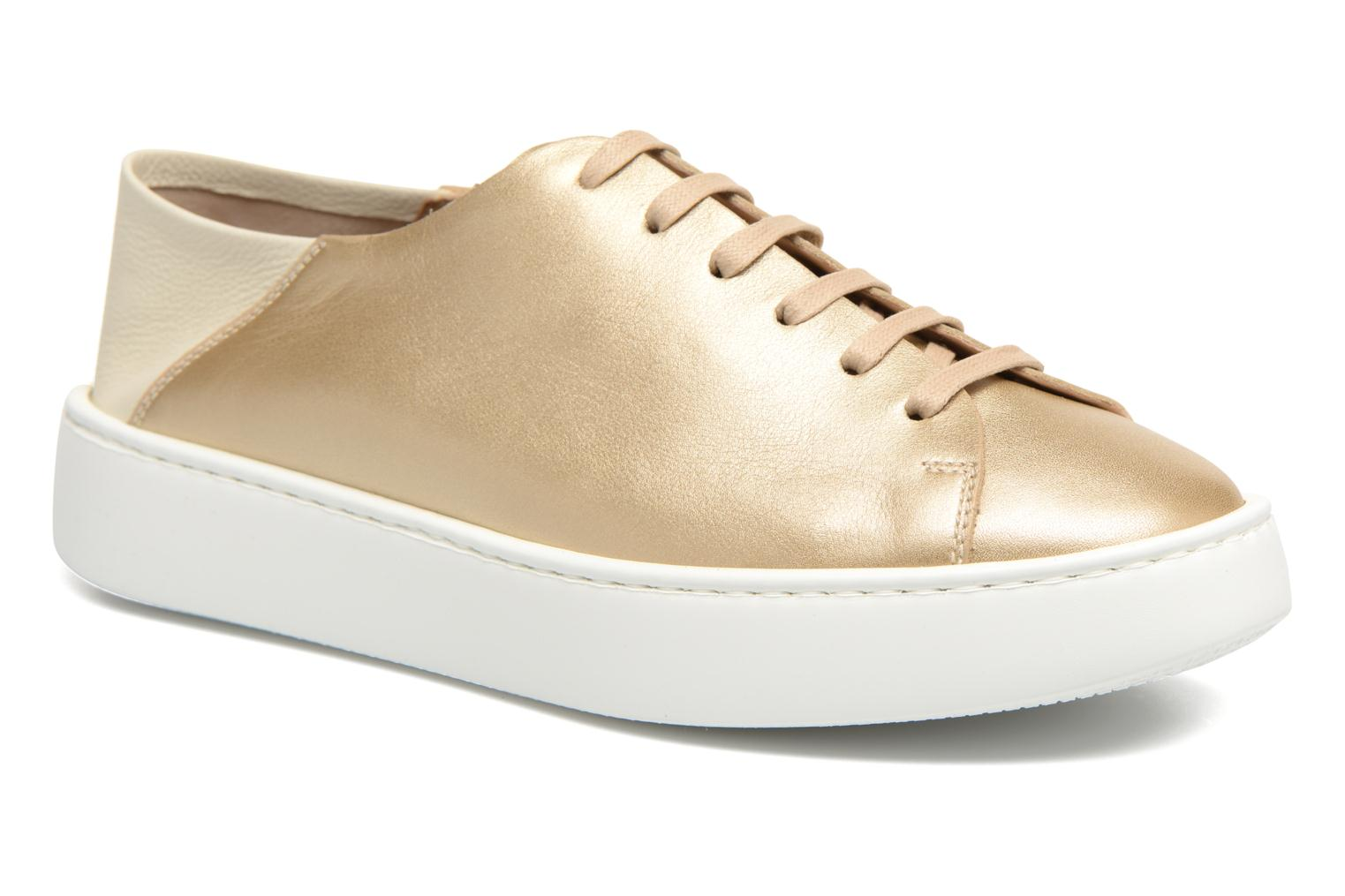 Trainers Fratelli Rossetti Vija Bronze and Gold detailed view/ Pair view