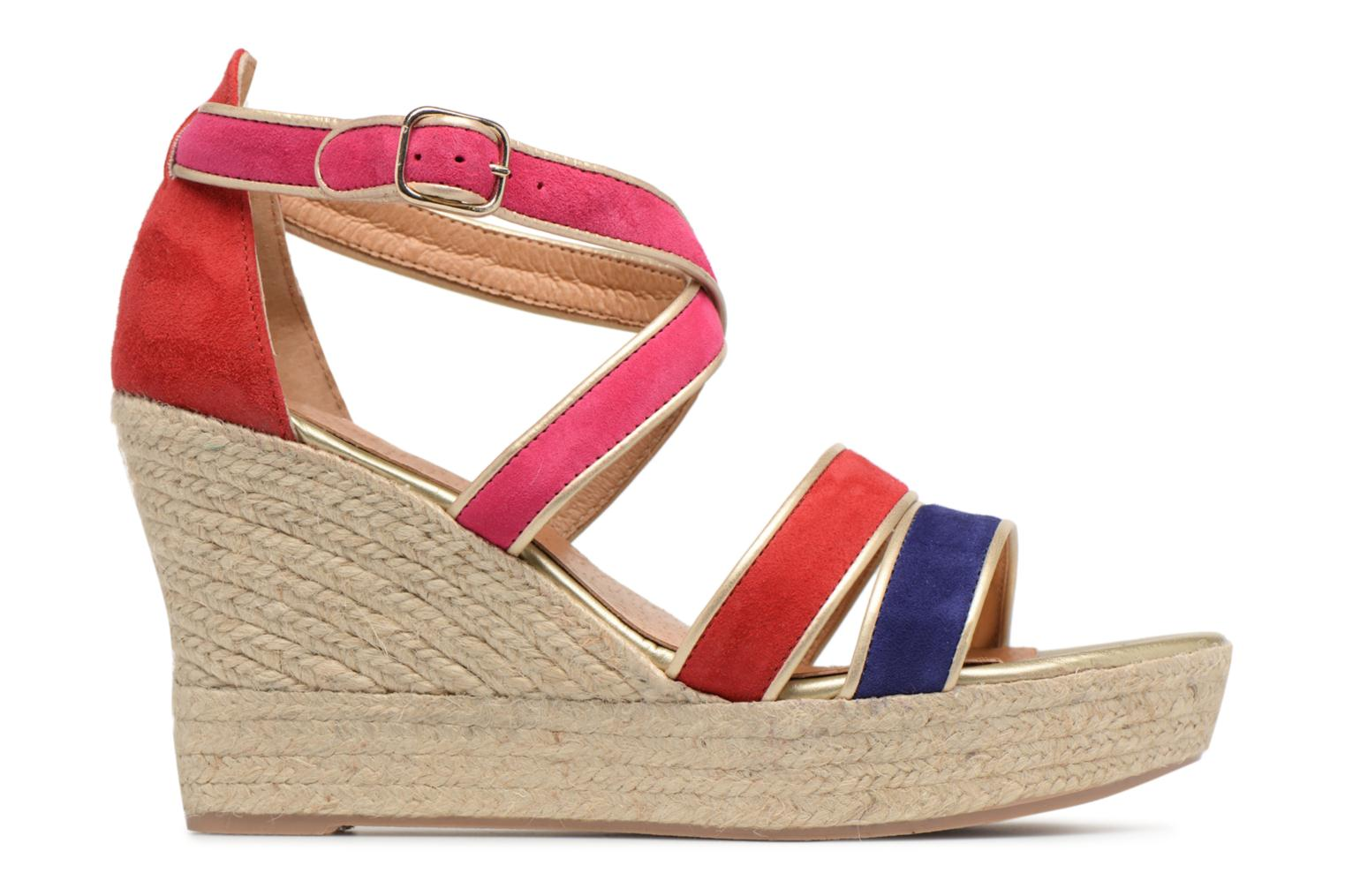 Marques Chaussure femme Made by SARENZA femme Bombays Babes Espadrilles #3 Cuir Velours Multico