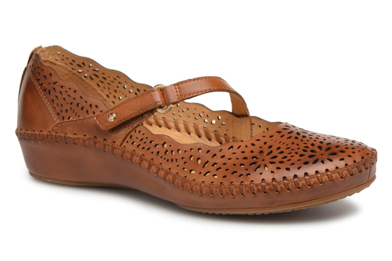 Los últimos zapatos de hombre y mujer Pikolinos P. P. Pikolinos VALLARTA 655 / 1573 brandy (Marrón) - Bailarinas en Más cómodo 7e14c4