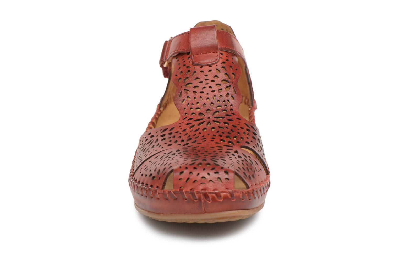 Ballerines Pikolinos P. VALLARTA 655 / 1574 sandia Rouge vue portées chaussures
