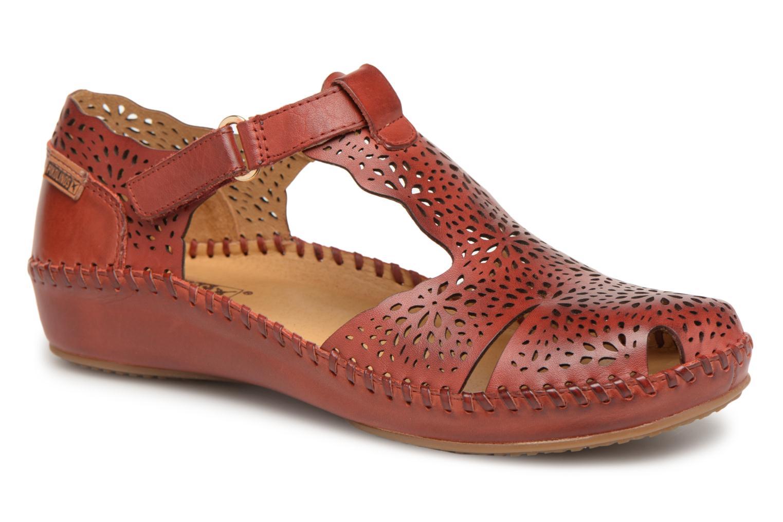 Grandes descuentos últimos zapatos Pikolinos P. VALLARTA 655 / 1574 sandia (Rojo) - Bailarinas Descuento