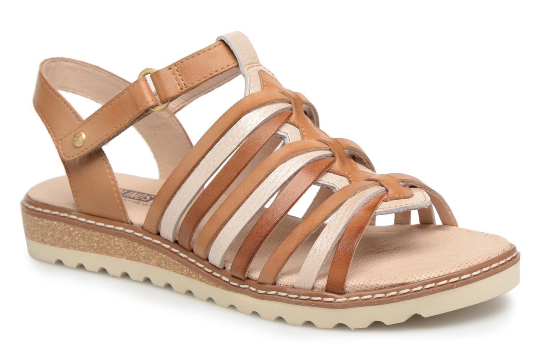 Grandes descuentos últimos zapatos Pikolinos ALCUDIA W1L / 0505C3 ivory (Beige) - Sandalias Descuento