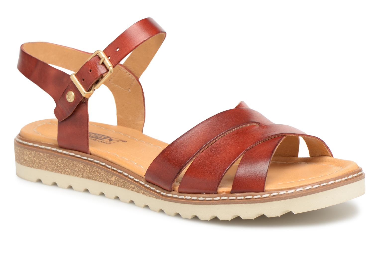 Zapatos promocionales Pikolinos ALCUDIA W1L / 0955 sandia (Rojo) - Sandalias   Zapatos casuales salvajes