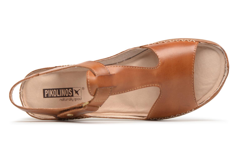Sandales et nu-pieds Pikolinos CADAQUES W8K / 0578 brandy Marron vue gauche