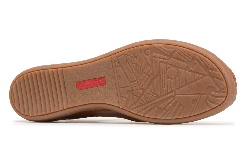 Sandales et nu-pieds Pikolinos CADAQUES W8K / 0578 brandy Marron vue haut