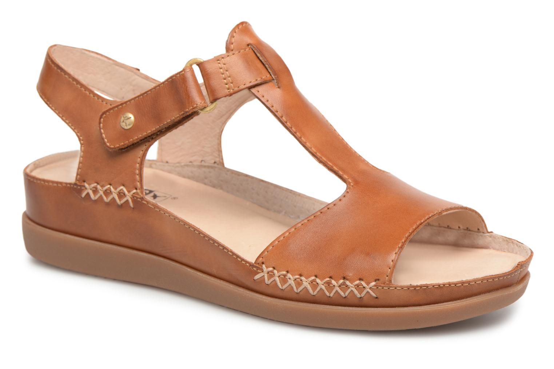 Sandales et nu-pieds Pikolinos CADAQUES W8K / 0578 brandy Marron vue détail/paire