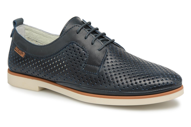 Grandes descuentos últimos zapatos Pikolinos SANTORINI W7G - / 4707 ocean (Azul) - W7G Zapatos con cordones Descuento 8ba280