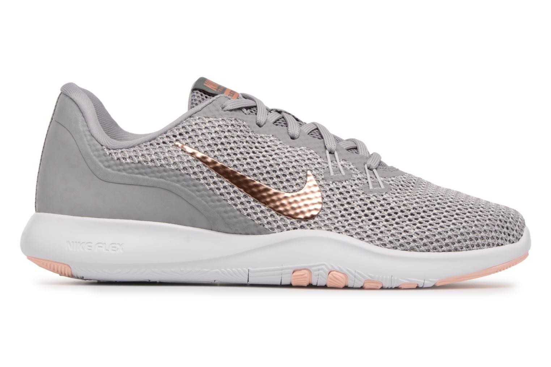 Sportschuhe Nike W Nike Flex Trainer 7 Print weiß ansicht von hinten