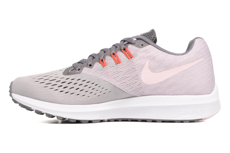 Chaussures de sport Nike Wmns Nike Zoom Winflo 4 Gris vue face