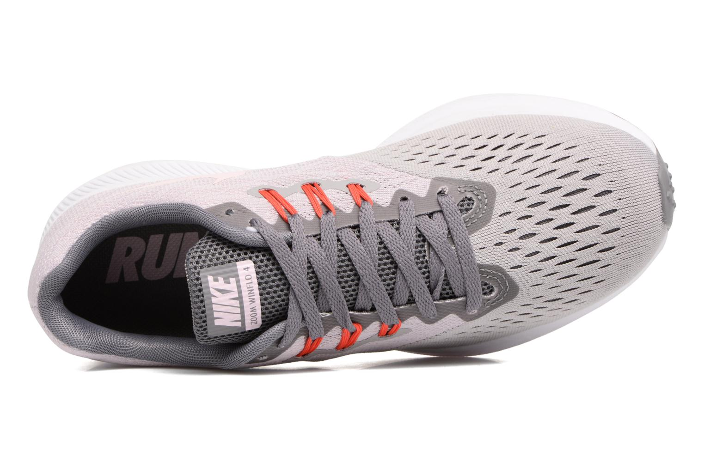 Chaussures de sport Nike Wmns Nike Zoom Winflo 4 Gris vue gauche