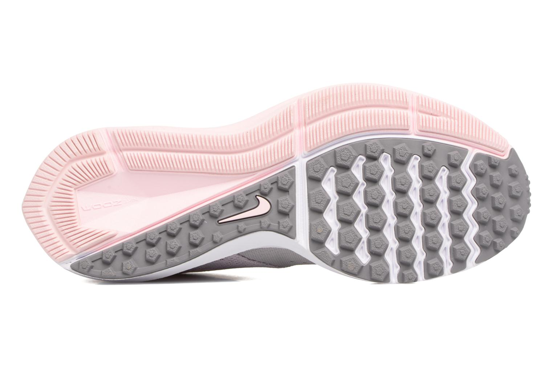 Chaussures de sport Nike Wmns Nike Zoom Winflo 4 Gris vue haut
