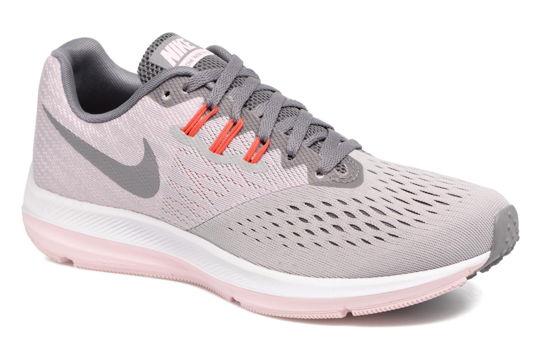 Zapatos promocionales Nike Wmns Nike Zoom Winflo 4 (Gris) - Zapatillas de deporte   Venta de liquidación de temporada