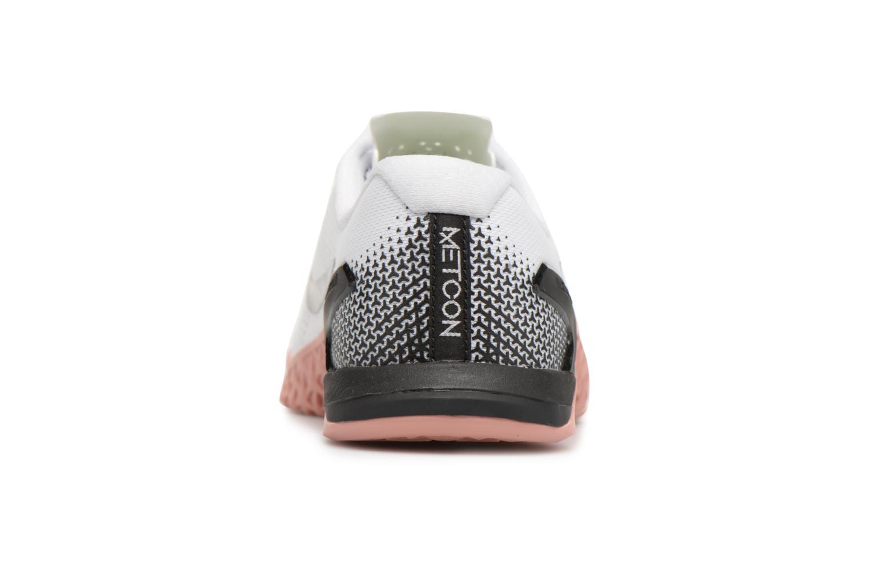 Chaussures de sport Nike Wmns Nike Metcon 4 Blanc vue droite