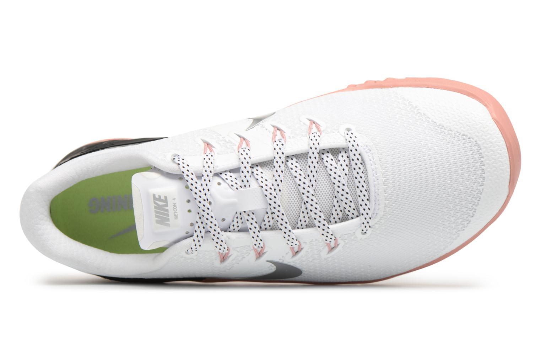 Wmns Nike Metcon 4 White/Metallic Silver-Rust Pink-Black