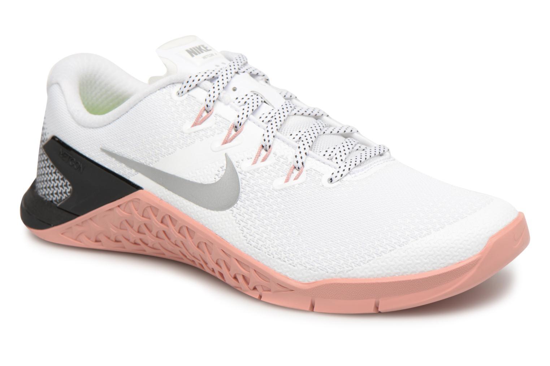 Chaussures de sport Nike Wmns Nike Metcon 4 Blanc vue détail/paire