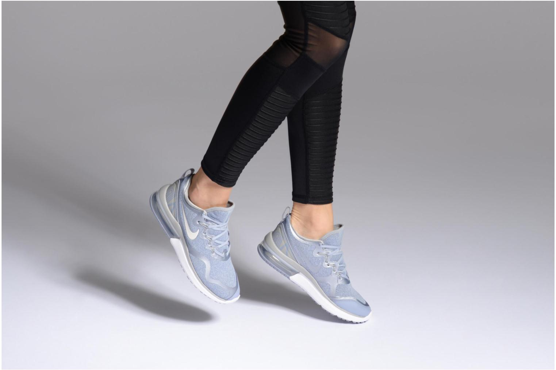 Chaussures de sport Nike Wmns Nike Air Max Fury Bleu vue bas / vue portée sac