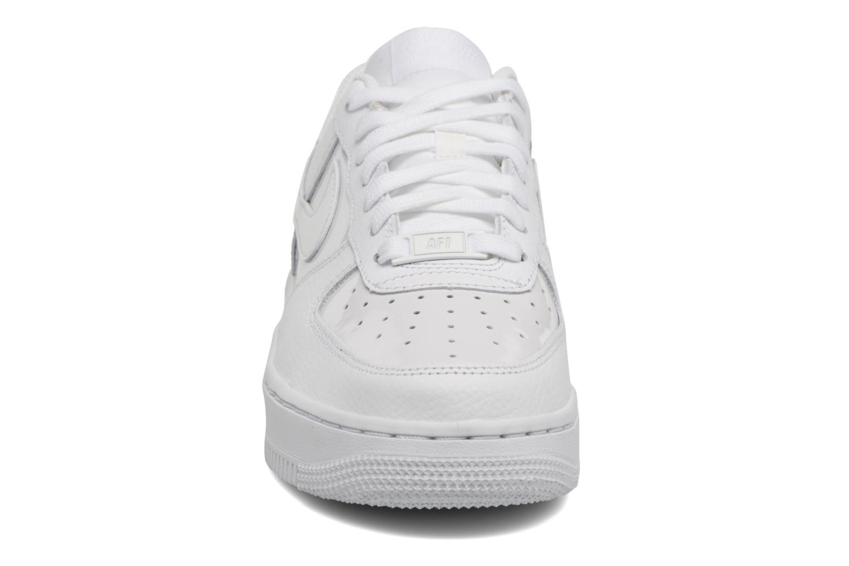 Baskets Nike Women Air Force 1 '07 Blanc vue portées chaussures