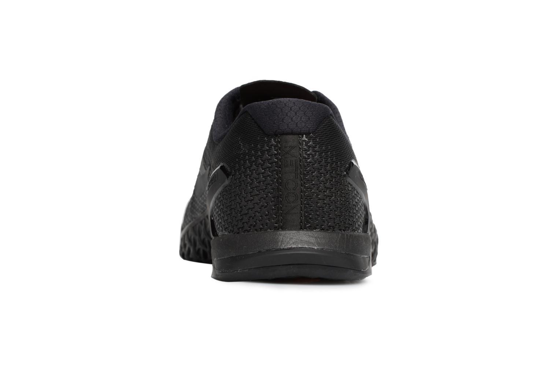 Chaussures de sport Nike Nike Metcon 4 Noir vue droite