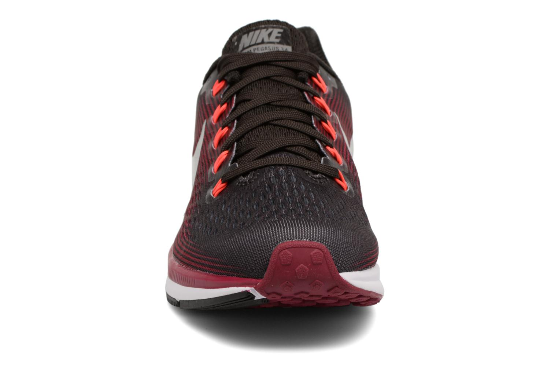 Chaussures de sport Nike W Nike Air Zoom Pegasus 34 Gem Marron vue portées chaussures