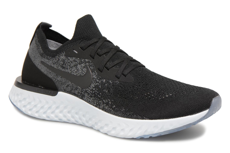 Sportschuhe Nike Nike Epic React Flyknit schwarz detaillierte ansicht/modell